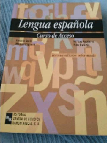 LIBRO LENGUA ESPAÑOLA