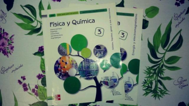 VENDO LIBRO DE FÍSICA Y QUÍMICA 3 ESO
