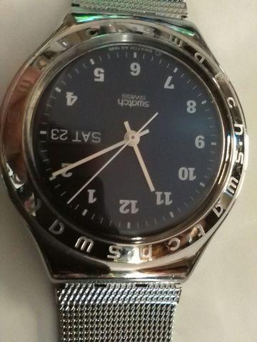 Reloj Swach Airon Vintage Milanesa