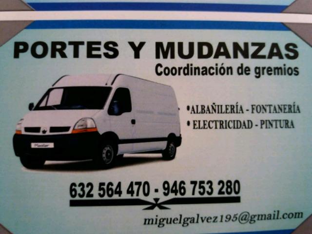 PORTES Y MUDANZA