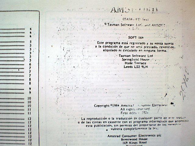 AMSTRAD CPC MANUALES + JUEGO CINTA ORIGI - foto 2