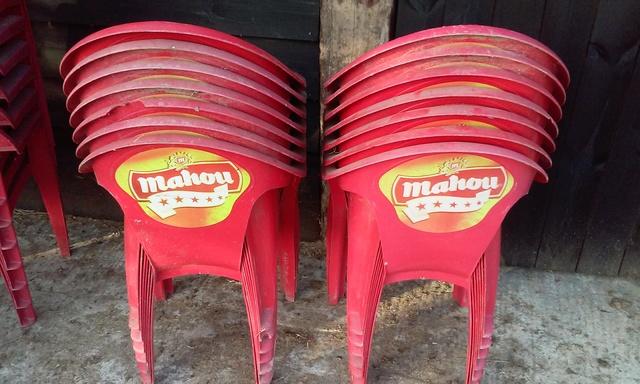 cuanto cuesta una silla plastica de terraza madrid