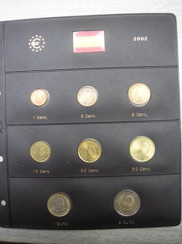 Hoja De Pardo. Euros De 2002,España
