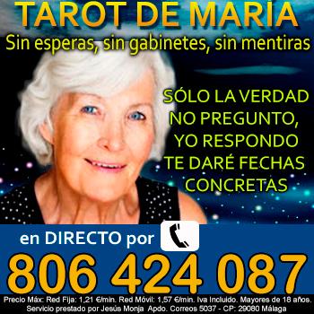 TAROT DE MARÍA, SOY PROFESIONAL