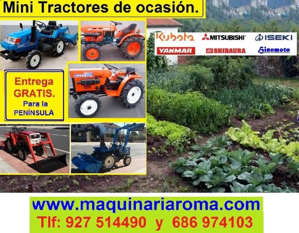 MINITRACTORES DE OCASIÓN