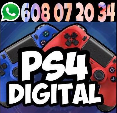 JUEGOS DIGITALES PS3 PS4