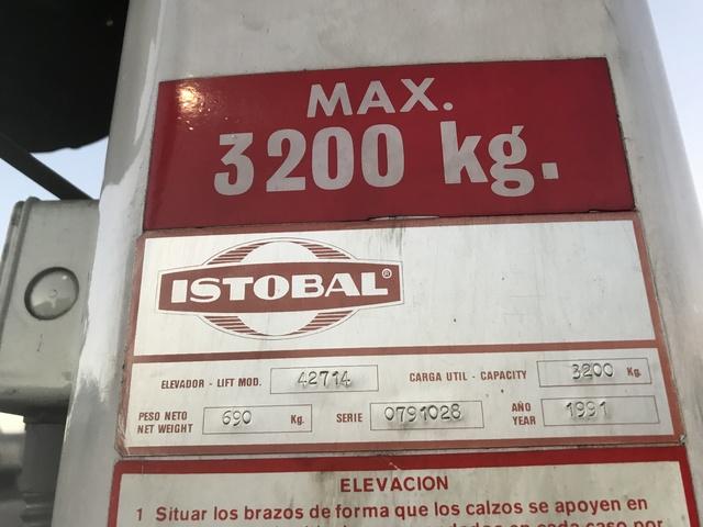 ELEVADOR DE COLUMNA ISTOBAL DE 3200 KG - foto 2