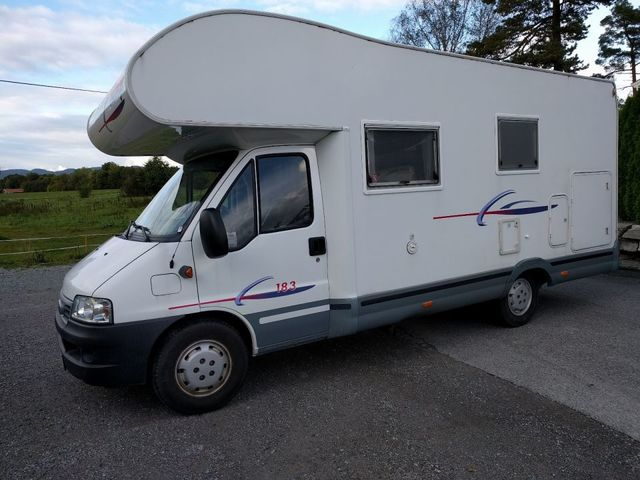 CAMPING-CAR FIAT - CHALLENGER 163