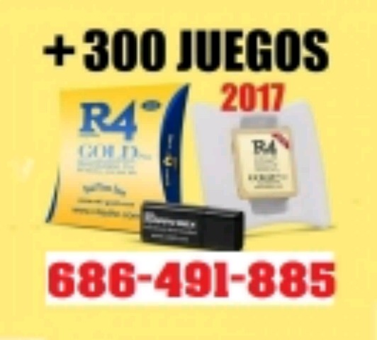 TARJETAS 16GB R4I GOLD