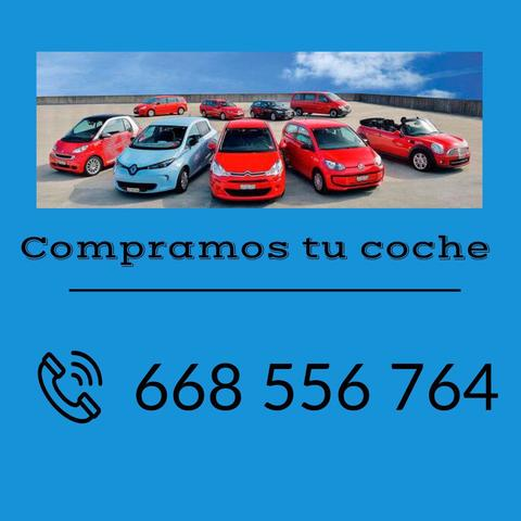 COMPRO COCHES FURGONETAS Y MOTOS