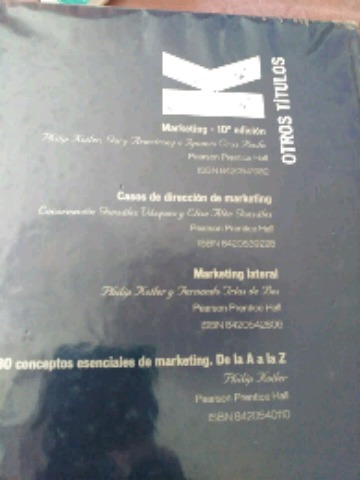 DIRECCIÓN DE MARKETING PHILIP KOTLER - foto 2