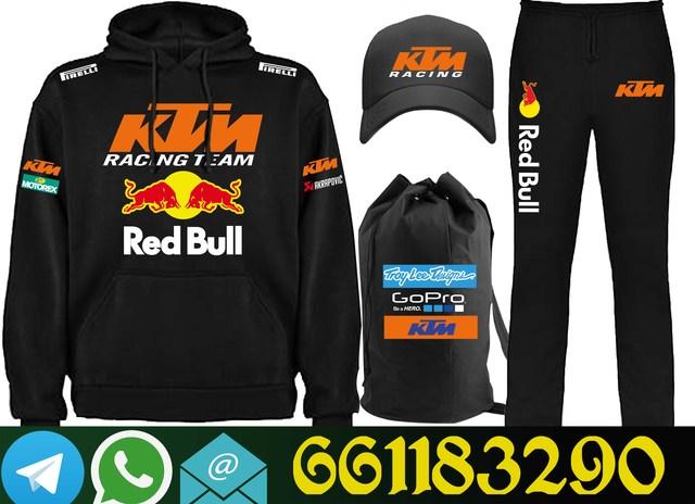 KTM CHANDAL DE ALGODON Y COMPLEMENTO