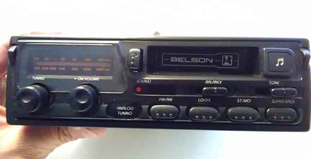 RADIO CASSETTE BELSON