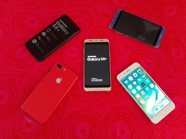 RÉPLICA IPHONE 7 PLUS, SAMSUNG S8 EDGE.