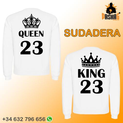 SUDADERA KING QUEEN 2 UNIDAD