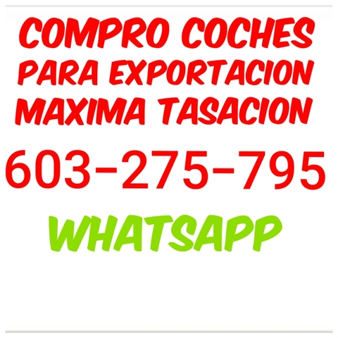 COMPRO COCHES CON EMBARGO RESERVA