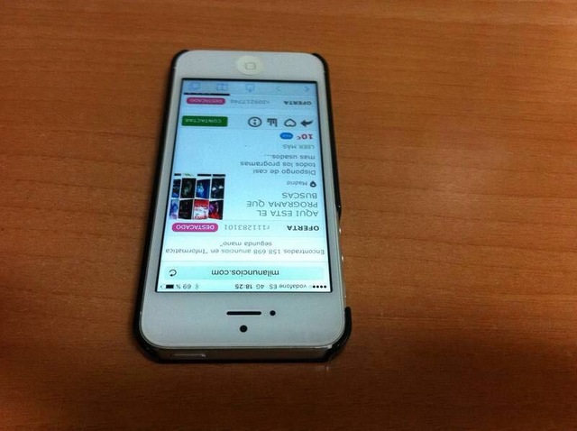IPHONE 5 LIBRE IMPECABLE MUY COMPLETO