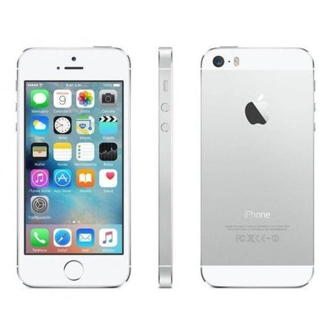 IPHONE 5S 32GB USADO (6 MESES GARANTÍA)