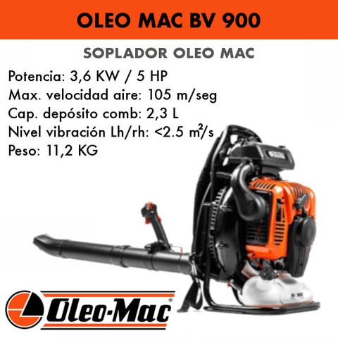 SOPLADOR DE MOCHILA OLEO MAC BV900