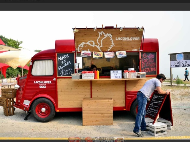 FOOD TRUCK HOMOLOGADO - DE 750 KILOS HASTA 1500 KILOS