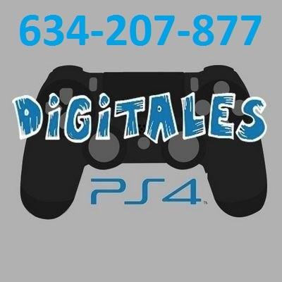 JUEGOS DIGITALES PS4