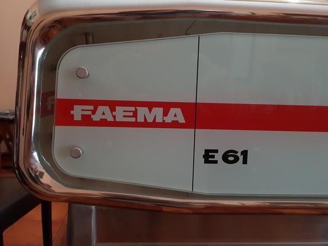CAFETERA FAEMA E 61 LEGEND ITALIANA