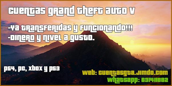 CUENTAS GTA 5 CHETADAS, HACK
