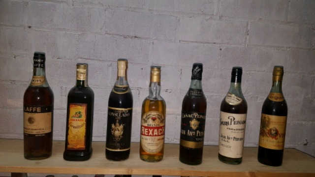Compro Brandy,Whisky,Ron