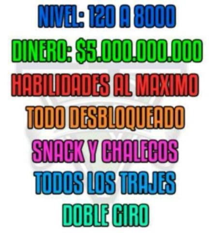 CUENTAS DE GTA5 CHETADAS PS4 Y PS3