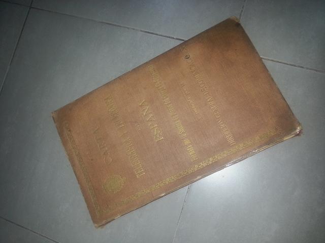 Libro Antiguo Carta Telegrafica