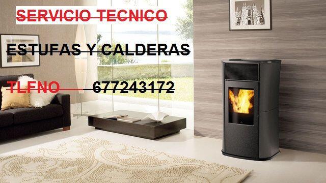 SERVICIO TECNICO ESTUFA DE PELLET