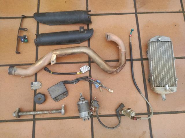 DESPIECE KTM EXC 525 450