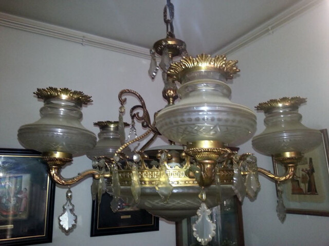 LAMPARA TECHO COMEDOR