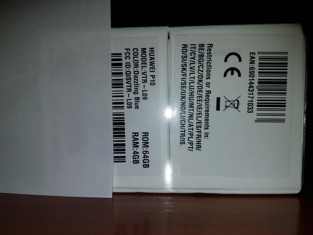 HUAWEI P10 64GB NUEVO Y PRECINTADO