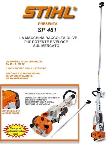 SP481 VAREADOR STIHL