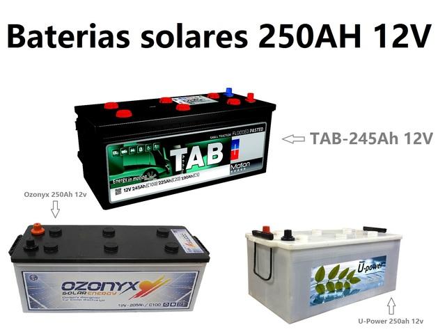 Baterias Monobloc Tab Solar