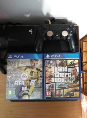 VENDO PS4 SLIM 500GB 2 JUEGOS 12 MESES