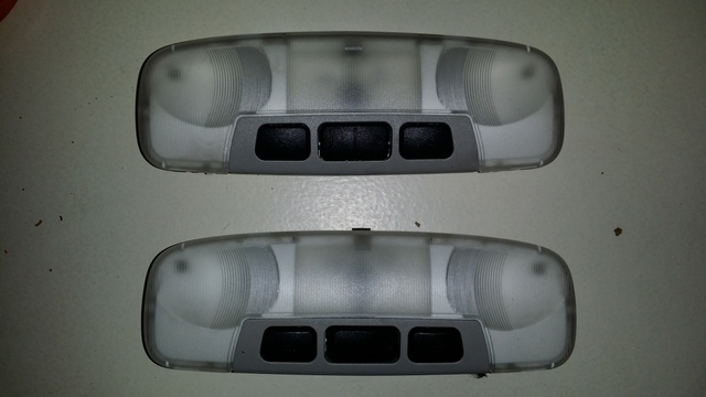 PLAFONES LUCES INTERIOR FORD