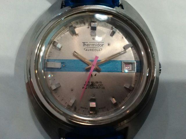Reloj Thermidor Aureole Scuba Vintage