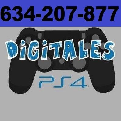 VENDO VIDEOJUEGOS DIGITALES PS4
