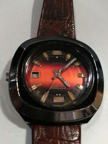 Reloj Citizen Automático Granate Vintage