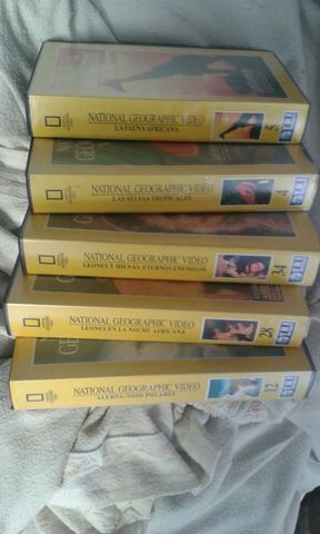 Cintas Vhs Coleccion National Geografic