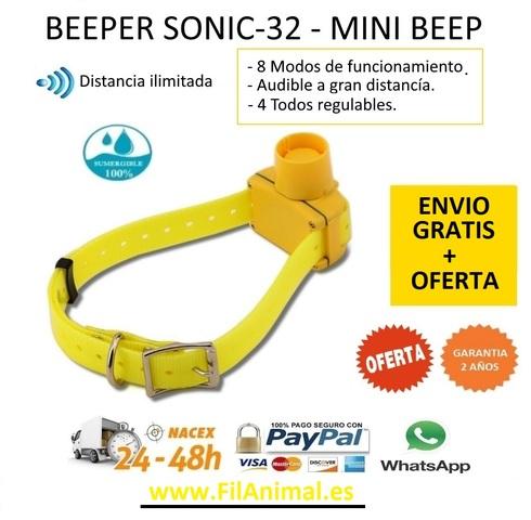 Minibeep becada acustico sonic-32 Canibeep