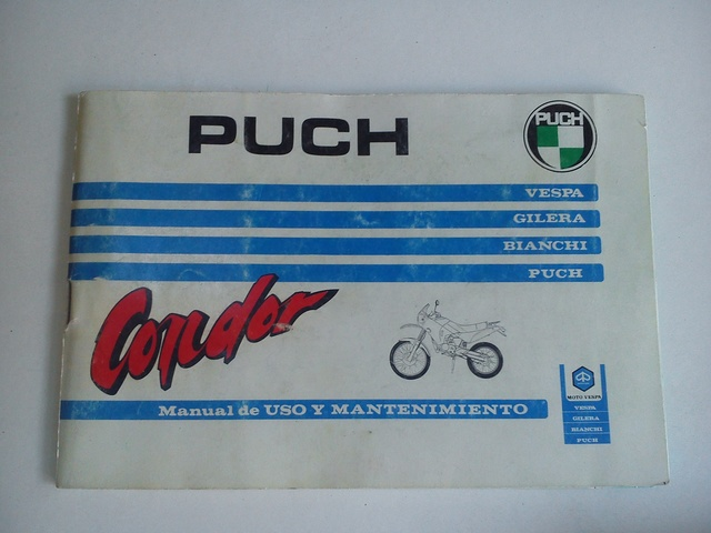 MANUAL DE INSTRUCCIONES MOTO PUCH CONDOR - foto 1