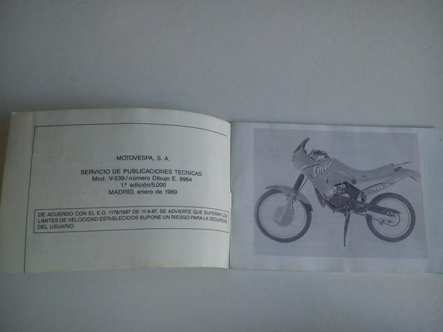 MANUAL DE INSTRUCCIONES MOTO PUCH CONDOR - foto 2