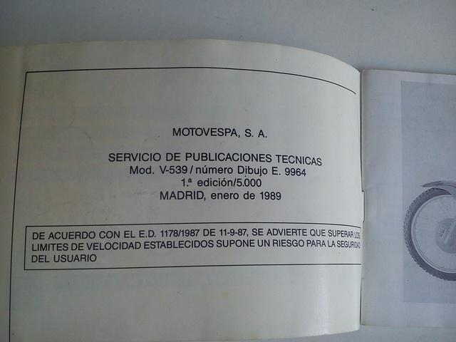 MANUAL DE INSTRUCCIONES MOTO PUCH CONDOR - foto 3