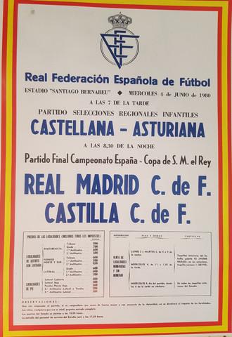 Carteles Historia Real Madrid