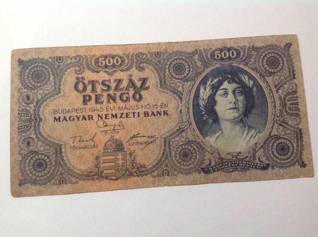 Billete De 1947 Budapest