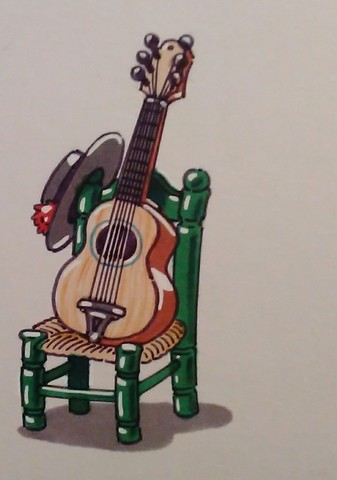 Mil Anuncioscom Guitarra Pintada Segunda Mano Y Anuncios Clasificados