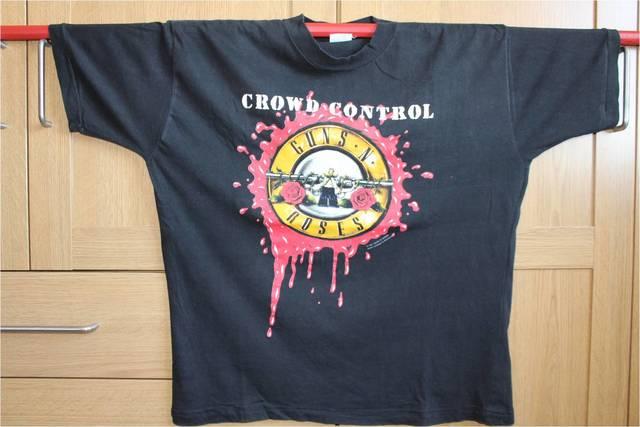 Guns Camiseta 91 Rara Gira Roses N F5TlcuK31J
